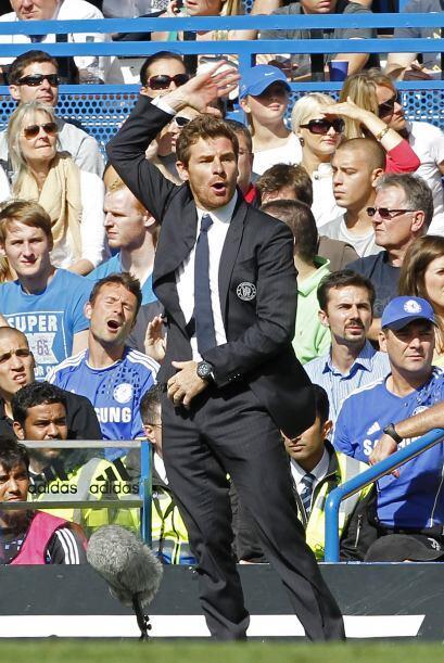 Pero sin dudas el mejor es el DT del Chelsea. André Villas Boas se la pa...