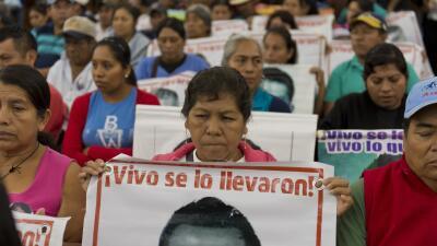Darwin Franco: Imagine que su hijo desaparece en México GettyImages-Ayot...