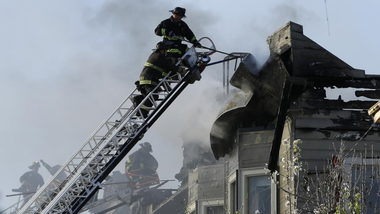 Incendio en Oakland, California