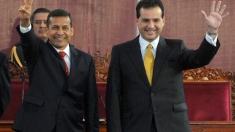 El segundo vicepresidente de Perú, Omar Chehade, renunció al cargo luego...