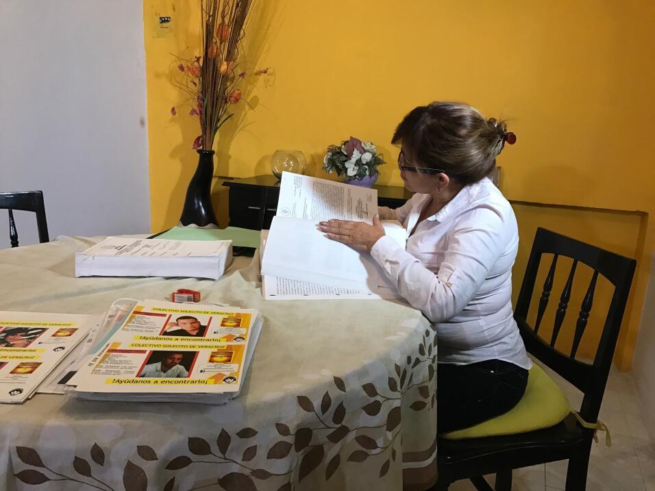 """Las madres de """"El Solecito"""" llevan un registro exhaustivo de l..."""