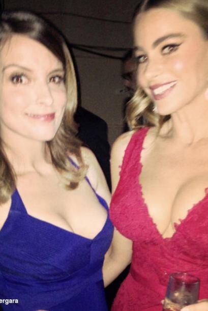 Sofía con Tina FeyMira aquí lo último en chismes.