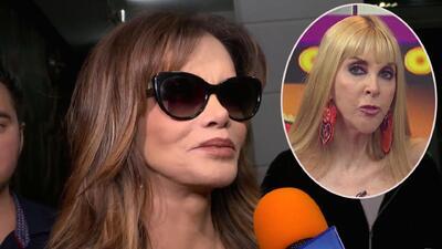 Lucía Méndez aceptó las disculpas de Shanik Berman pero le envió un duro mensaje