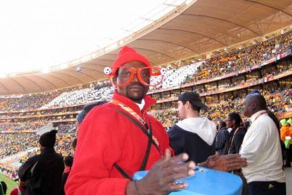 Incluso los vendedores de bebidas en los estadios disfrutan cada momento.