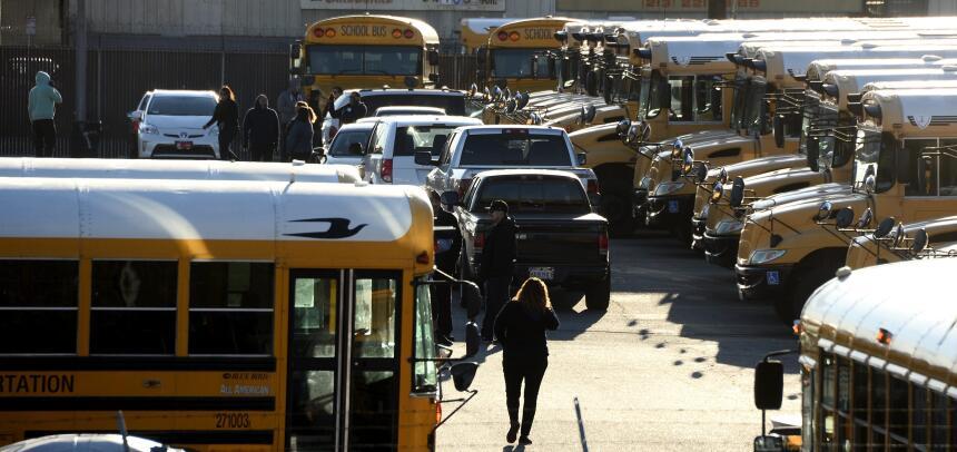 Amenaza en escuelas de Los Ángeles.