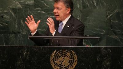 Juan Manuel Santos confirma su compromiso con la paz en Colombia
