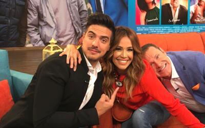 Vadhir Derbez, Karla Martínez y Alan Tacher