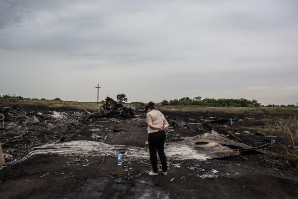En la región de Donetsk se encuentra la mayor parte de los restos de la...