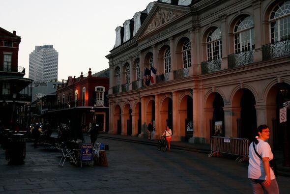 La ciudad fue fundada en 1718 por colonos franceses y es de las pocas ci...