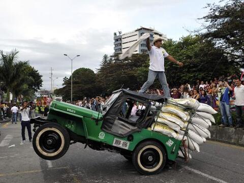 Los campesinos de la región montañosa de Colombia dejaron...