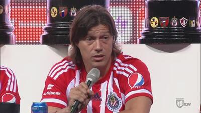 Matías Almeyda fue presentado oficialmente como DT de Chivas