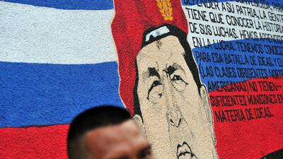 Chávez hizo una donación millonaria para que un barrio de Managua se con...