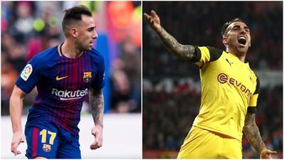 ¡Le ha servido el cambio! Comparativa entre 'Paco' Alcácer con Barcelona y Borussia Dortmund