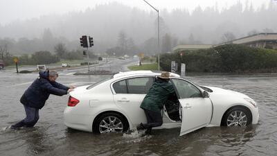 En fotos: las imágenes más llamativas de las últimas lluvias torrenciales en California