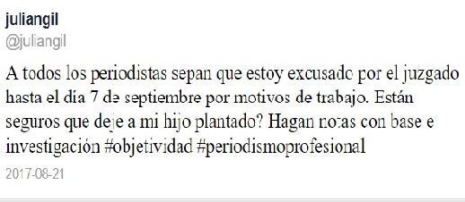 Julián Gil se reencontrará con su hijo Matías el 7 de septiembre, 3 mese...