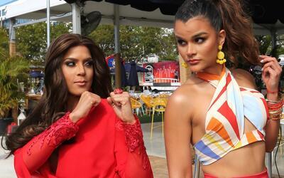 Francisca Lachapel y Clarissa Molina, dos ganadoras de la corona de Nues...