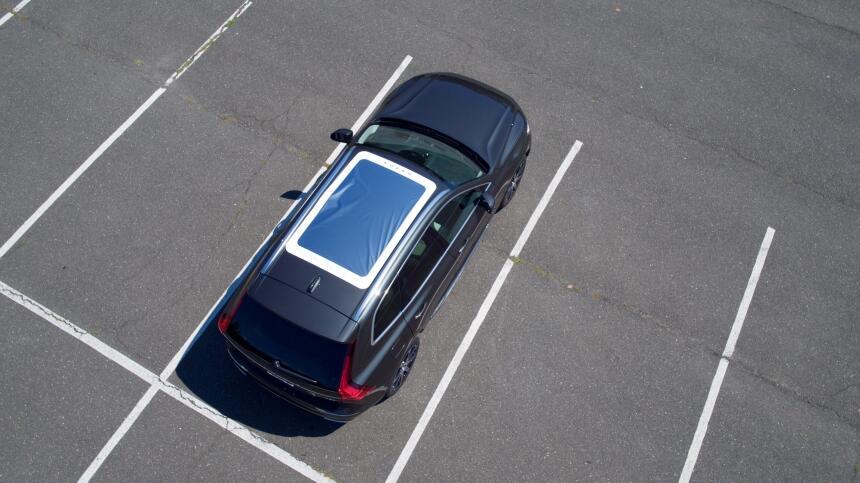 Volvo Panoramic Moonroof Eclipse Viewer