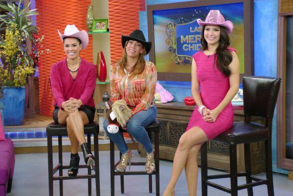 Llegó la hora de Las Meras Chidas con Karla, Cynthia y Ana muy al estilo...