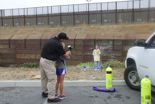 Se cuestiona sensibilidad en evento público de la patrulla fronte...