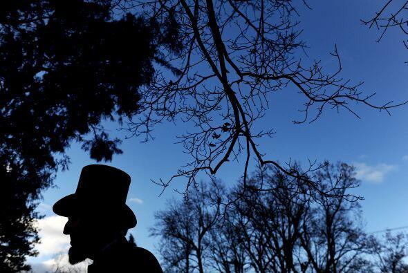 La conmemoración fue en el mismo lugar donde el 19 de noviembre de 1863...