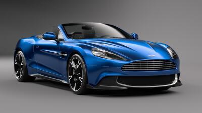 Este es el nuevo Aston Martin Vanquish S Volante