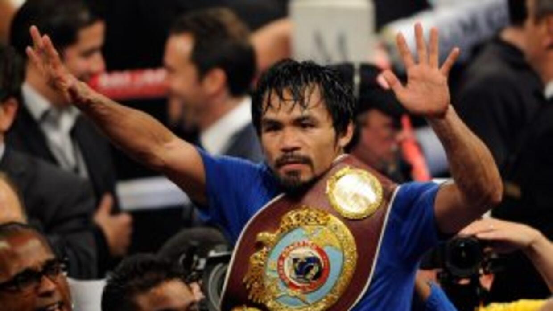 Manny Pacquiao conservó su cinturón, pero no fue el boxeador de otras v...