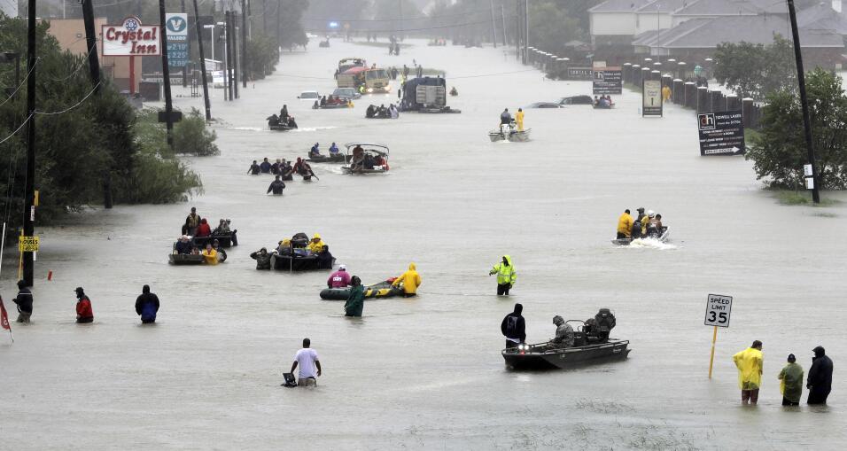Huracán Harvey. El poderoso fenómeno meteorológico...