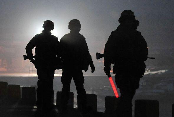 Corea del Sur realizó ejercicios militares con municiones reales...