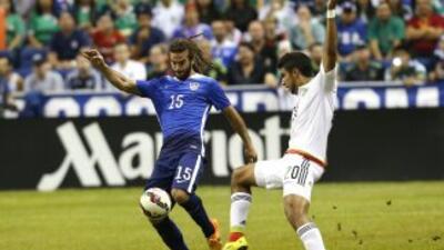 Más que buen fútbol, el encuentro entre EEUU y México esta semana dejó f...