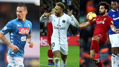 ¡El grupo C arde! Napoli, PSG y Liverpool, por dos cupos a los Octavos de Champions League