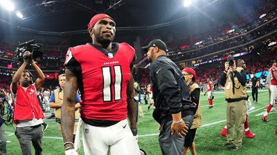 ¿Conflicto entre Julio Jones y los Atlanta Falcons? Así lo confirman sus redes sociales