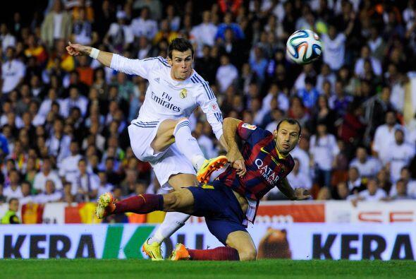 Bale no lucía tanto como se esperaba, pero tuvo algunas ocasiones.
