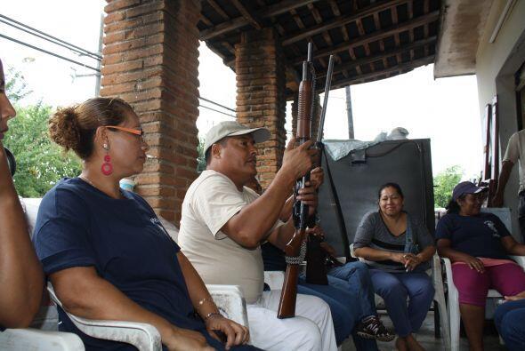 La incorporación de estas mujeres a las autodefensas se llevó a cabo el...
