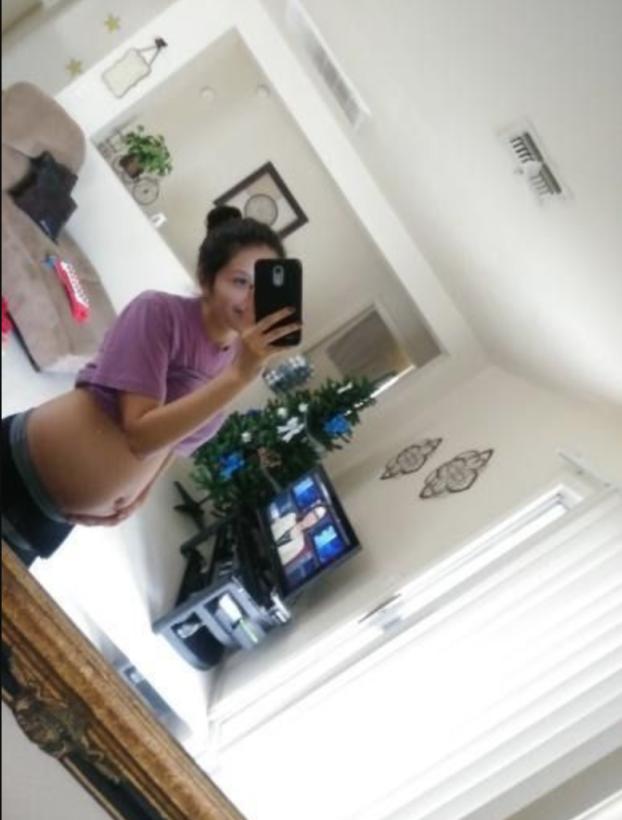 Jazmine Vega, de 19 años, tenía seis meses de embarazo al morir.