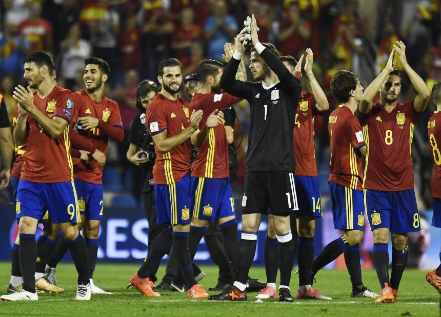 España se convirtió en el clasificado 11 a Rusia 2018 gettyimages-858424...