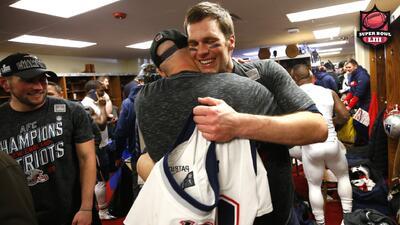 Patriots de Brady alcanzaron su tercer Super Bowl consecutivo pese a muchas dificultades
