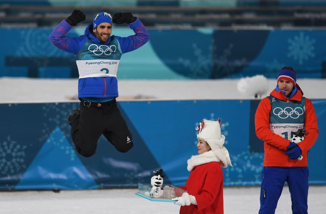 Pyeongchang 2018: Los resultados de la jornada martin-fourcade-biathlon-...