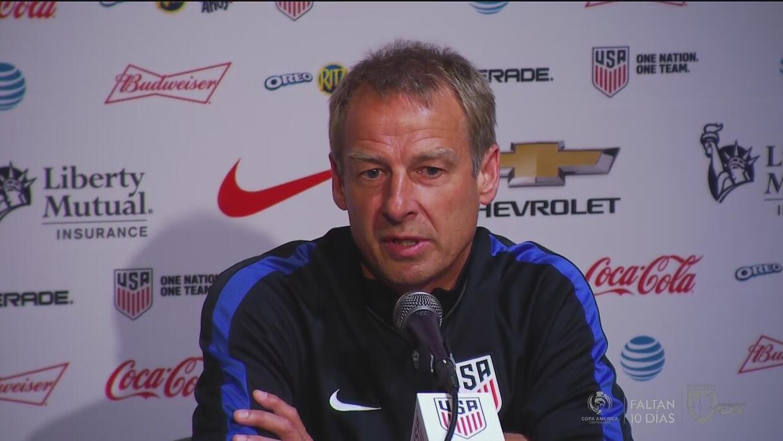 """Jurgen Klinsmann: """"Copa América Centenario es la exhibición más grande d..."""