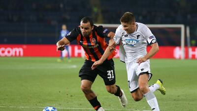 En fotos: Shakhtar y Hoffenheim dieron un buen espectáculo con el empate por 2-2 en la Champions