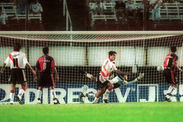 Dos años después, Atlas en su primera participación en Copa Libertadores...