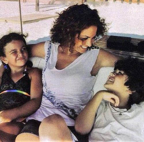 Lucero y sus hijos