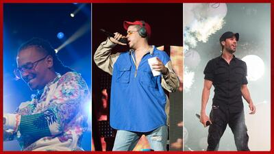 En Fotos: Bad Bunny, Ozuna, Farruko y Enrique Iglesias entre otros, brillaron en el Uforia Mix Live