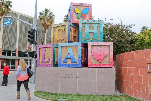 El Hospital Infantil de Los Ángeles fue el lugar elegido por la cantante...