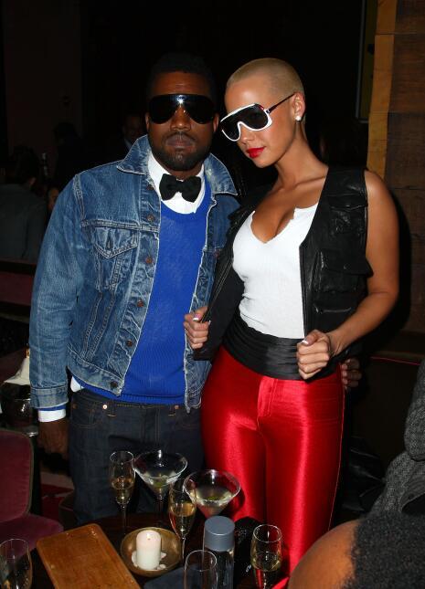 Kanye y Amber Rose