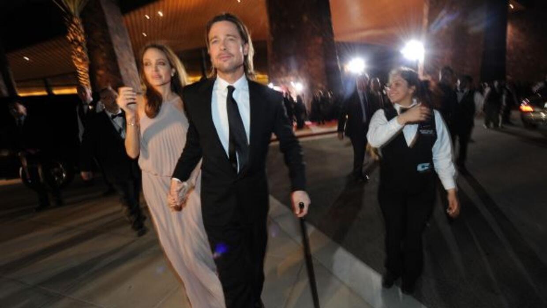 Brad Pittsufrió una lesión por tratar de proteger a su pequeña hija Viv...