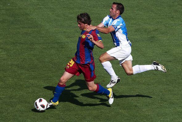 El equipo de Guardiola salió con un equipo alternativo.