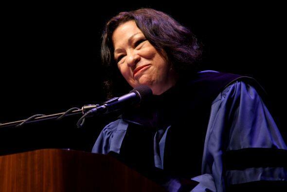 La jueza Sonia Sotomayor, la primera magistrada latina de la Corte Supre...