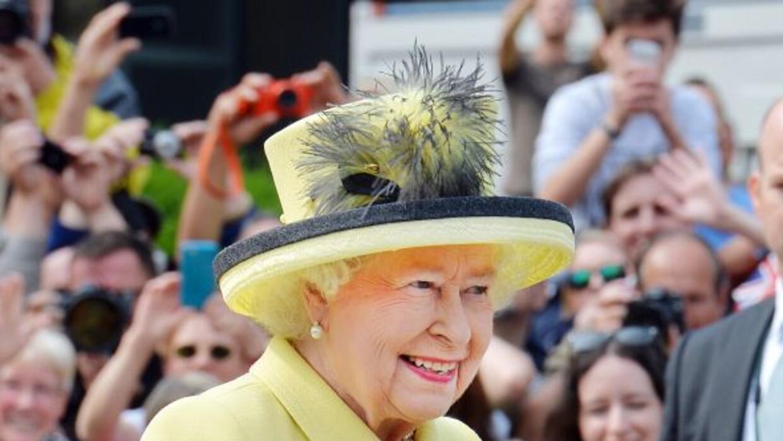 ¿Conocían la sonrisa de la Reina Isabel II?