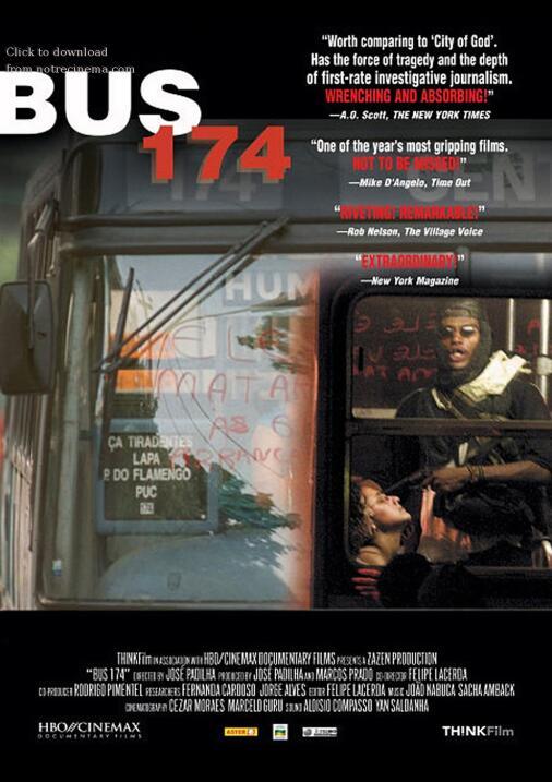 Ônibus 174(2004), BrasilDirector: José Padilha, Felipe LacerdaEl documen...