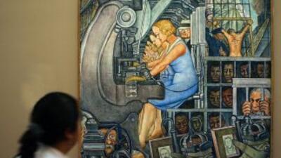 'La Nueva Libertad'  es una de las obras del pintor mexicano, Diego Riv...